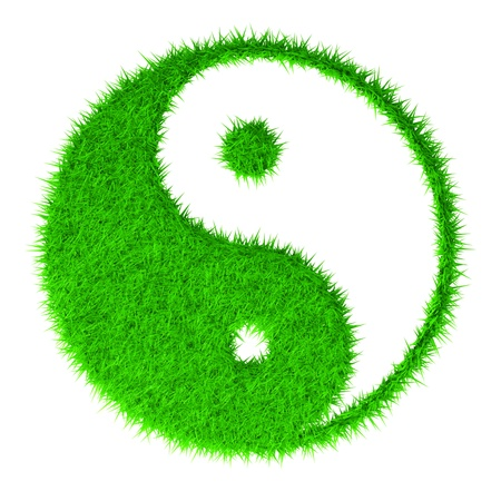 daoism: The yin and yang grass sign
