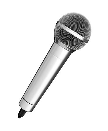 mics: Micr�fono - aislados en fondo blanco