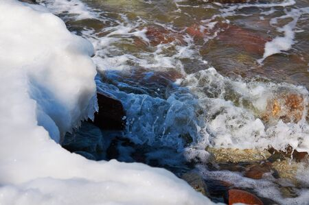 spring tide: Melting of sea ice in the spring