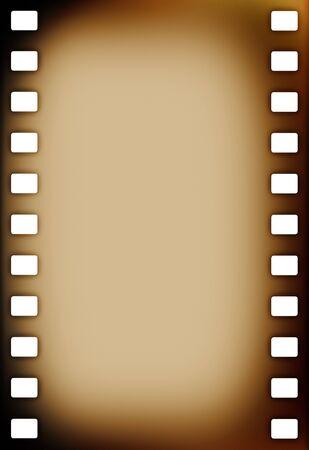 photo strip: Old grunge film strip