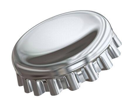 Bottle cap - isolated on white  Stock Photo - 20896569