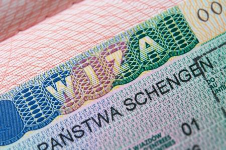 immigrate: Schengen Visa in passport