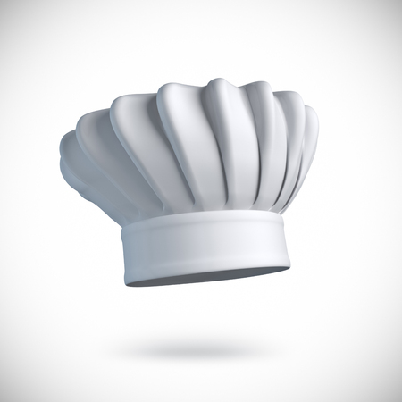 Chef hat illustration Stock Photo