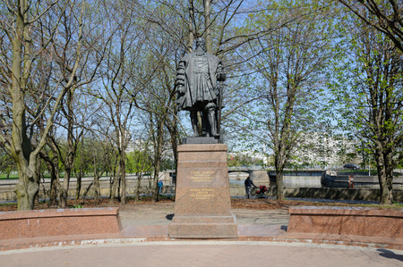 albrecht: KALININGRAD, RUSSIA - MAY 4, 2013: The monument to Duke Albrecht - the last Grand Master of the Teutonic Order. He founded the University of Kenigsberg
