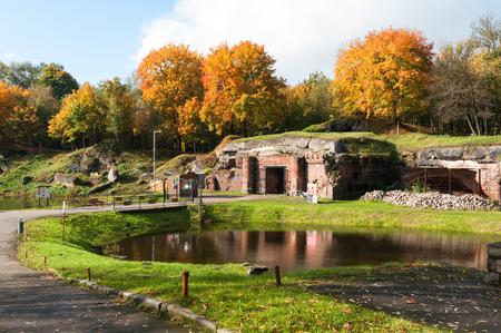 friedrich: Fort 5  Friedrich Wilhelm III   in Kliningrad  Russia