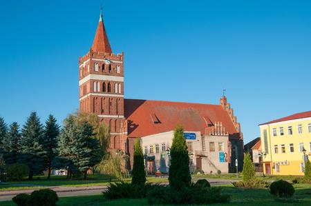 earlier: Church of St  George in Pravdinsk  earlier Friedland   Kaliningrad region, Russia