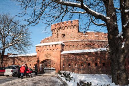 Museum of Amber  Koenigsberg fort Der Dona  Kaliningrad  Russia