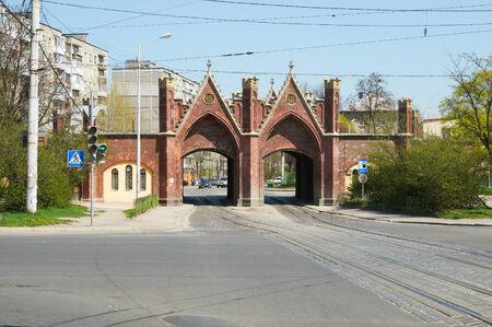 brandenburger tor: Brandenburg Gate  Brandenburger Tor   Kaliningrad  Russia