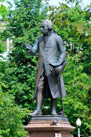 immanuel: KALININGRAD, RUSSIA - JUNE 16, 2014  Monument of Immanuel Kant, German philosopher, founder of German classical philosophy