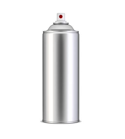 spray paint can: Aluminum spray can