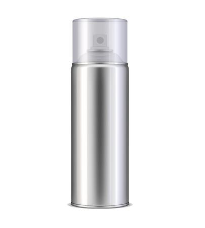 aluminum: Aluminum spray can