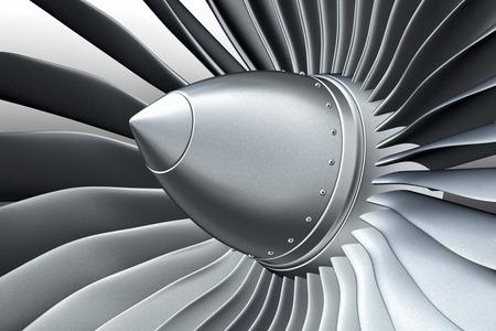ターボ ジェット エンジン 写真素材