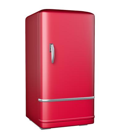 refrigerator: Retro refrigerator