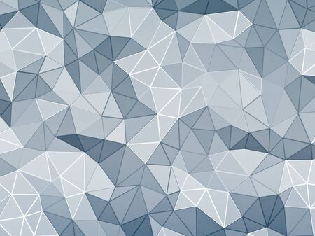 web side: Abstract faceted background