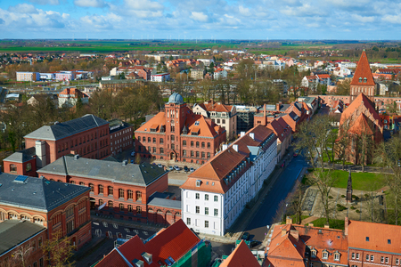 alma: GREIFSWALD, GERMANY - APRIL 2, 2015: University of Greifswald, is one of the oldest universities in Europe, founded in 1456, Mecklenburg-Vorpommern, Germany Editorial