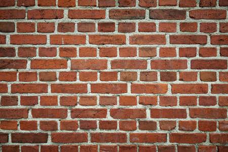 Red brick wall texture background Standard-Bild