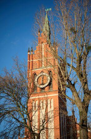 Church of the Holy Family. Kaliningrad. Russia 版權商用圖片 - 68242655