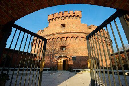 Wehrturm Dona, alte Deutsch militärische Festung, wurde im Jahre 1853 gebaut Standard-Bild - 69669726