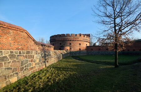 Defensive tower Dona, old german military fortification, was built in 1853