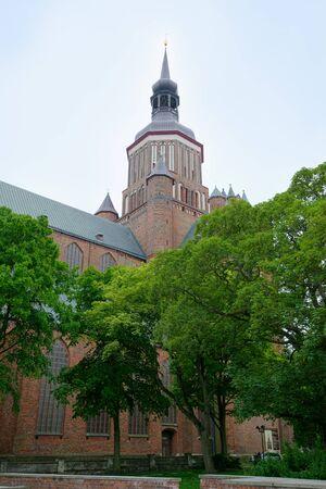 St. Mary's Church in Stralsund, northern Germany Standard-Bild