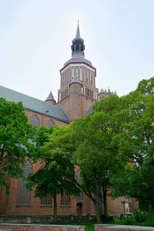 St. Marys Church in Stralsund, northern Germany
