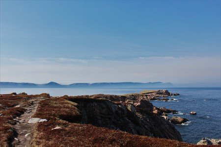 White Point Trail, Nova Scotia. Stock Photo - 79398385