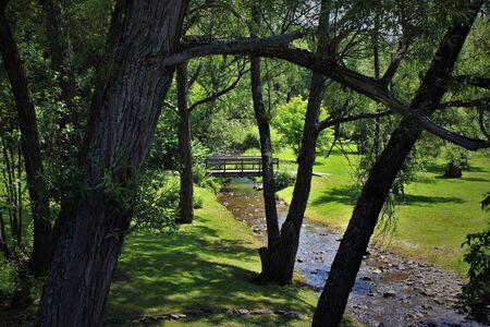 A park in Trenton, Nova Scotia.