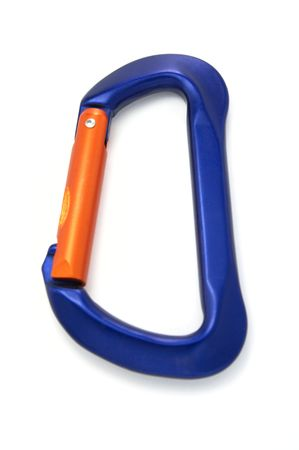 climbing equipment - carabiner lock photo