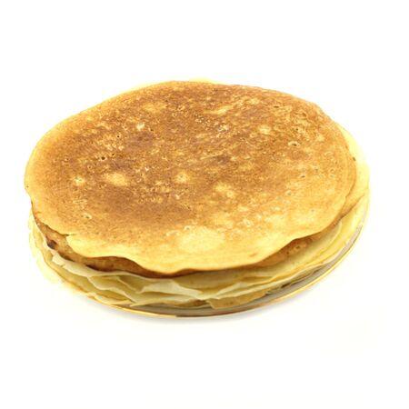 rubicund: pancakes pile