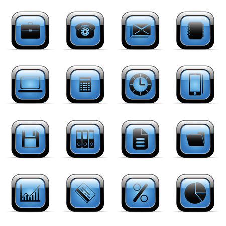 Vector icons set for web applications (set4) Stock Vector - 6514425