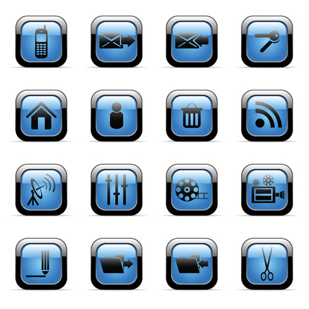 Vector icons set for web applications (set6) Vector