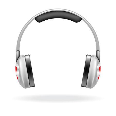 audifonos: Icono de vector de un auriculares