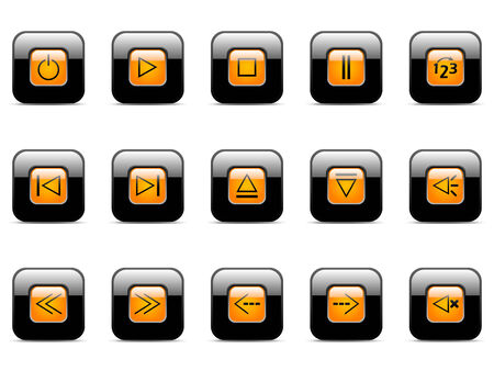 Vector icon for web applications (set 1) Vector