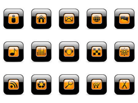Vector icon for web applications (set 2) Vector