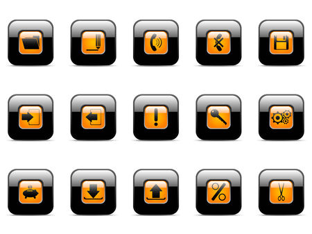 Vector icon for web applications (set 4) Vector
