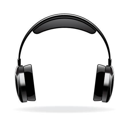 auriculares dj: Auriculares de vector