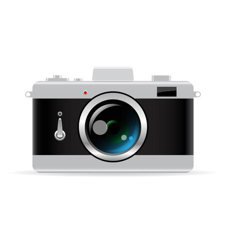 photo camera: Macchina fotografica vettoriale
