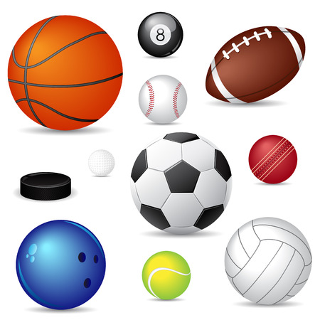 athletic symbol: sport balls