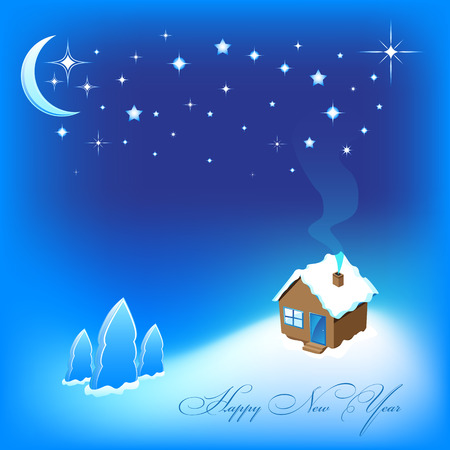 Cristmas and New Year Stock Vector - 8269663