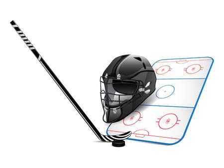 puck: Hockey design elements