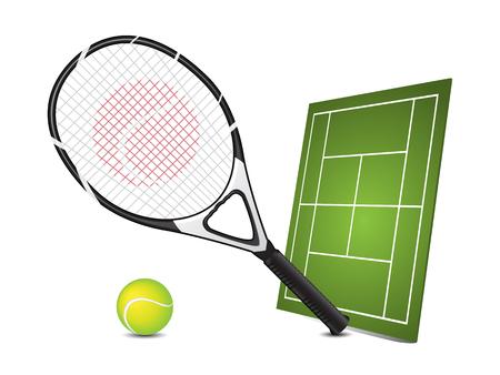 tennis racket: Tennis design elements