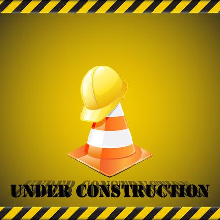 Under construction Иллюстрация