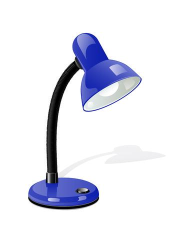 Vector table lamp  Иллюстрация