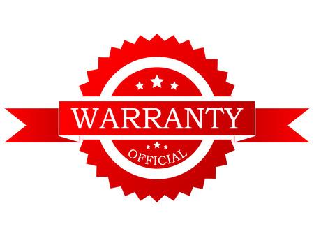 Vector rode garantie label