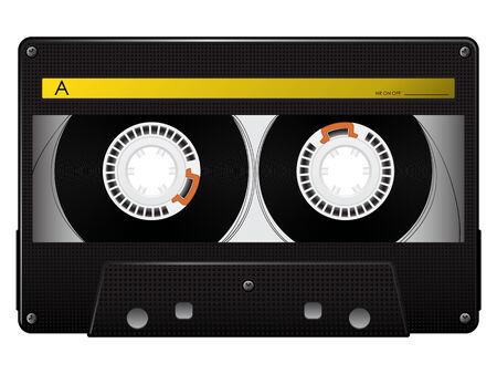 cassette tape: audio cassette