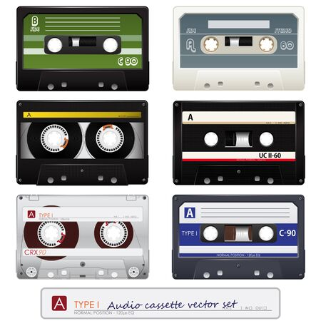 Vector audio cassettes  Vector