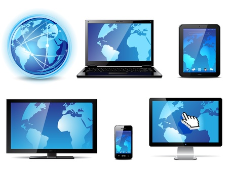 Electronic devices Stock Vector - 11031555