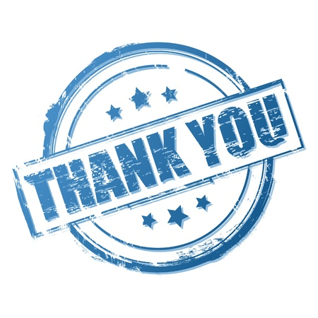 Thank you vector stamp Stock Vector - 11031556