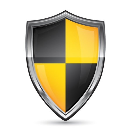 firewall: Vector Shield Security-Symbol