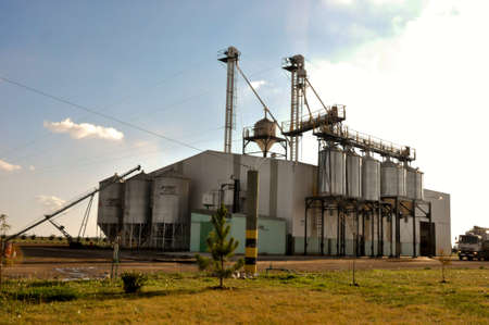 A feedstuffs facility in Argentina
